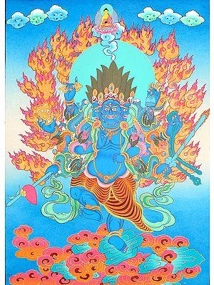 Tibetan Buddhist Vajrapani