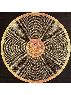 Super Large Mandala of the Buddha (Tibetan Buddhist)