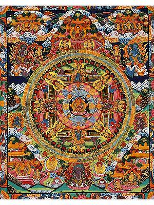 The Buddha Mandala (Tibetan Buddhist)
