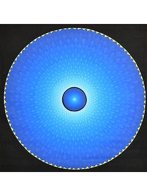 OM (AUM0 Mandala (Large Thangka)