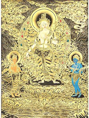 Standing Tara - Tibetan Buddhist
