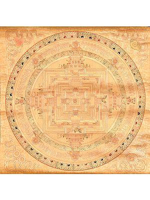 Kalachakra Mandala in Gold