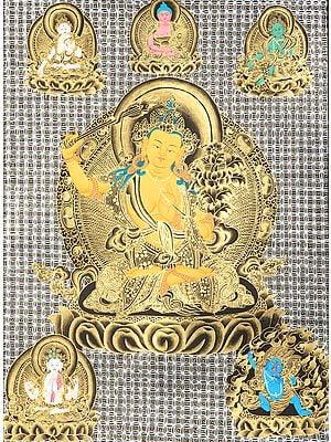 Tibetan Buddhist Bodhisattva Manjushri