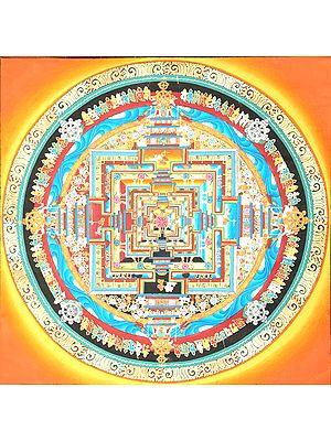 Kalachakra Mandala - Tibetan Buddhist
