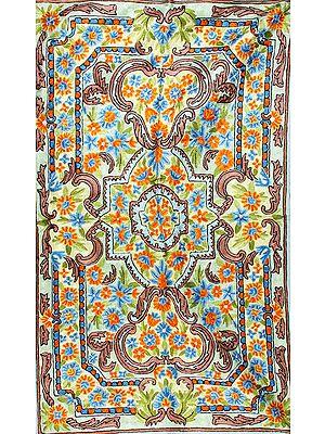 Embroidered Mandala Prayer Asana