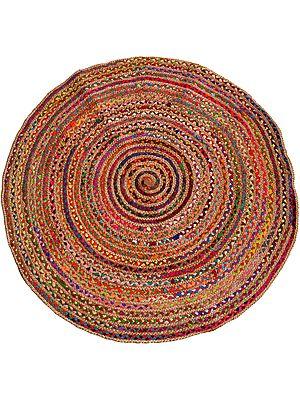 Multicolored Spiral Asana Mat