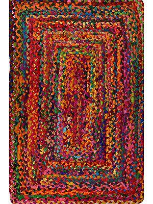 Multicolored Pure Cotton Carpet