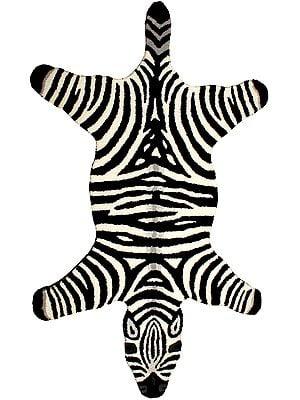 Zebra Yogic Asana Mat
