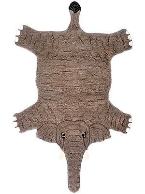 Brown Elephant Asana Mat