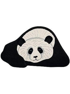 Resting Panda Yogic Asana Mat from Mirzapur