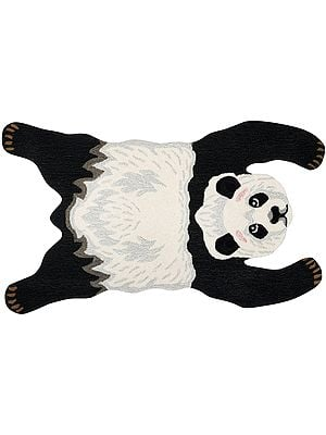 Panda Yogic Asana Mat from Mirzapur