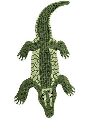 Crocodile Asana Mat