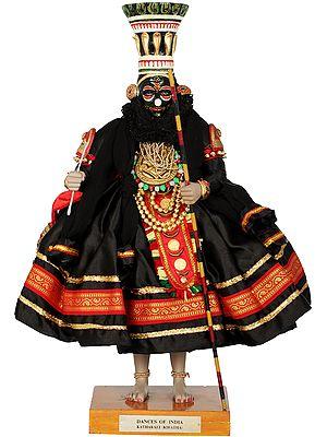 Dances Of India - Kathakali (Kiratha)
