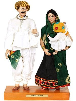 Traditional Gujarati Family