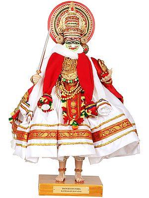 Kathakali Doll - Ravana