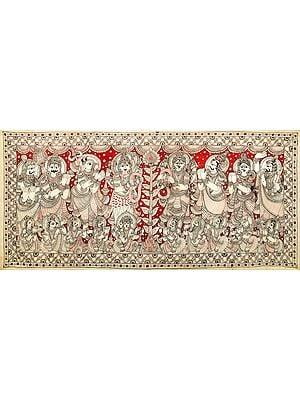 Shiva-Parvati Wedding