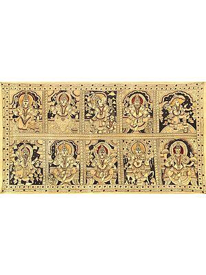 Dashavatara - The Ten Incarnations of Vishnu