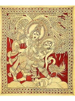 Radha-Krishna In The Throes Of Togetherness
