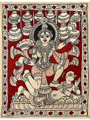 Apsara Dancing On Vamana