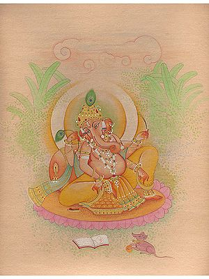 A Softly Rendered Ganesha