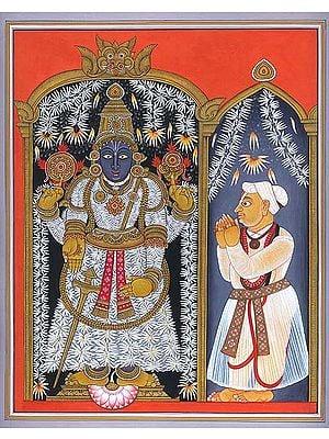 Balaji with the Devotee