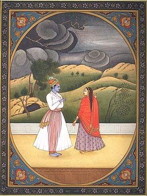 Baramasa - Month of Bhadon (Varsha)