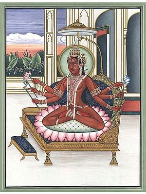 Shodashi as Tripurasundari