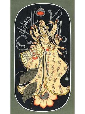 Cosmic Form of Durga