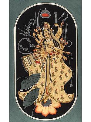 Cosmic Form of Goddess Durga