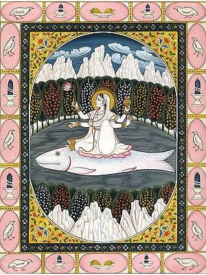 Ganga - The River Goddess