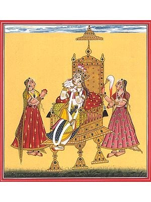 Goddess Bhagavati - The Bestower of Wealth (Tantric Devi Series)