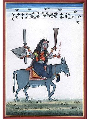 Goddess Shitala
