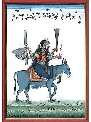 Goddess Shitala Mata - Who Cures Chickenpox
