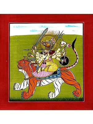 Goddess Varahi (Tantric Devi series from Basholi)