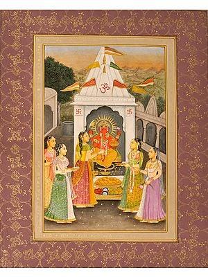 Ganapati Worship