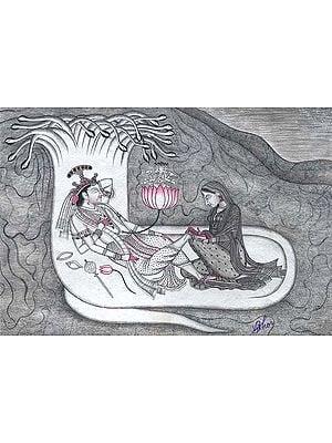 Seshashyai Vishnu (With Chromatic Aberration)