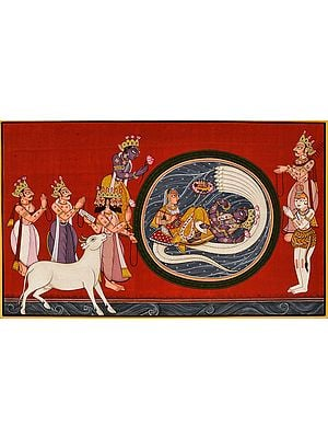 An Episode From The Beginning Of The Bhagavat