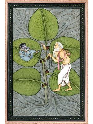 Vatapatra-Shayi Krishna