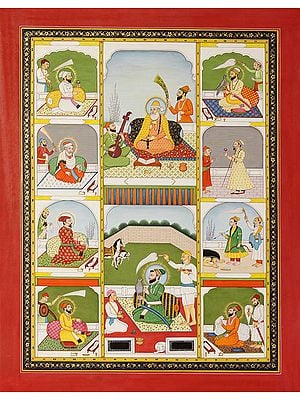 All Ten Personal Gurus of Sikhs