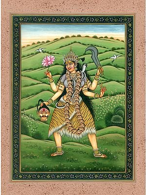 Tara the Compassionate Goddess (Mahavidya)