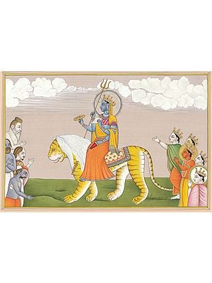 Goddess Durga as Jaya