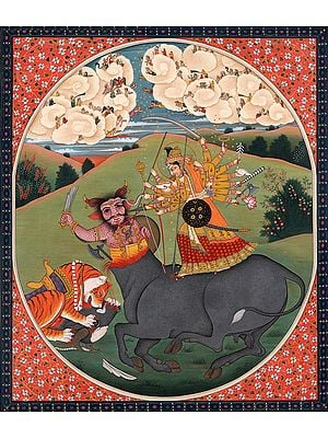 The Eighteen-Armed Mahishasura-Mardini