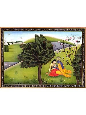 Krishna Paints Radha's …
