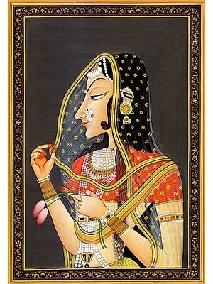 Bani-Thani: Portrait of a Lady who is the Model of Beauty