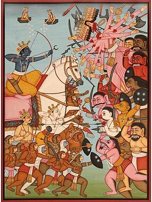 Rama Killing Ravana: An Episode from Rama-Katha