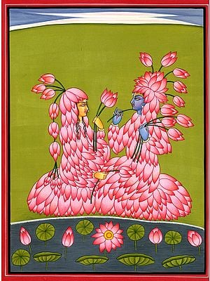 Radha Krishna The Lotus Lovers