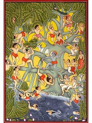 Jala-Krida: Krishna's Water-Sport