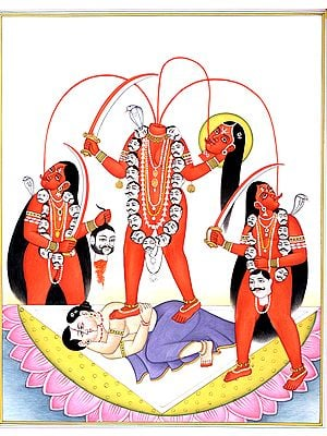 Chhinnamasta, Who Decapitates Herself to Feed Devotees
