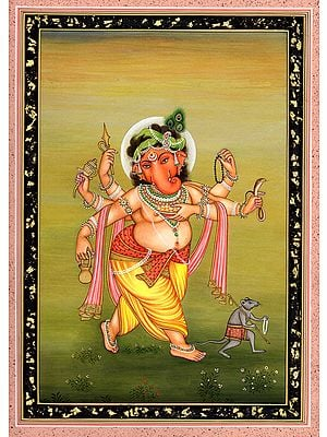 Ganesha Traverses The Countryside