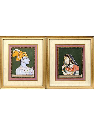 The Inseparable Radha-Krishna